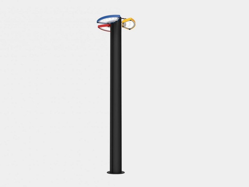 LED powder coated aluminium street lamp GARDEN FLOWER | Street lamp by ES-SYSTEM