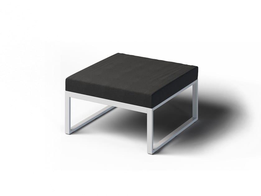 Square garden footstool FORMAL   Garden footstool by Laubo