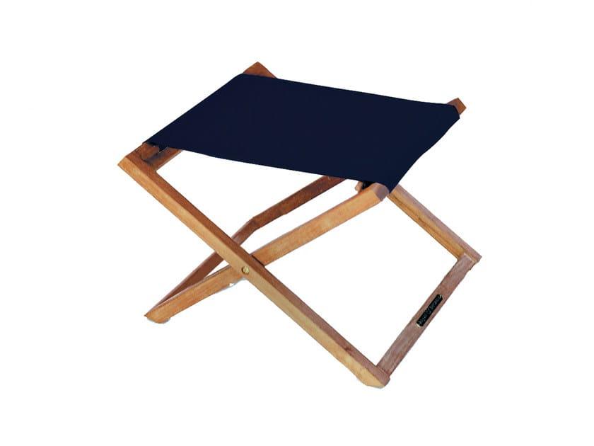 Fabric garden footstool BEACHER | Garden footstool by ROYAL BOTANIA