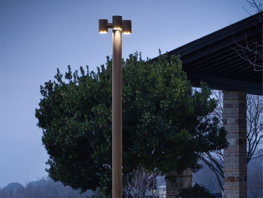 Lampione da giardino a LED in ottone ABARTH | Lampione da giardino by Aldo Bernardi