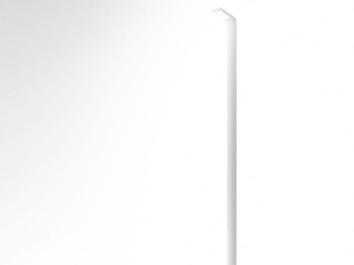 Lampione stradale a LED in alluminio estruso HILA   Lampione stradale by Artemide