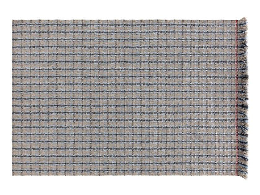 GARDEN LAYERS BLUE | Tappeto rettangolare