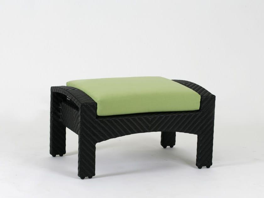 Rectangular garden footstool CEDAR | Garden footstool by 7OCEANS DESIGNS