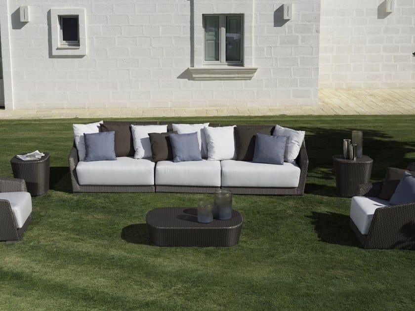 Mood divano da giardino collezione mood by braid design carlo