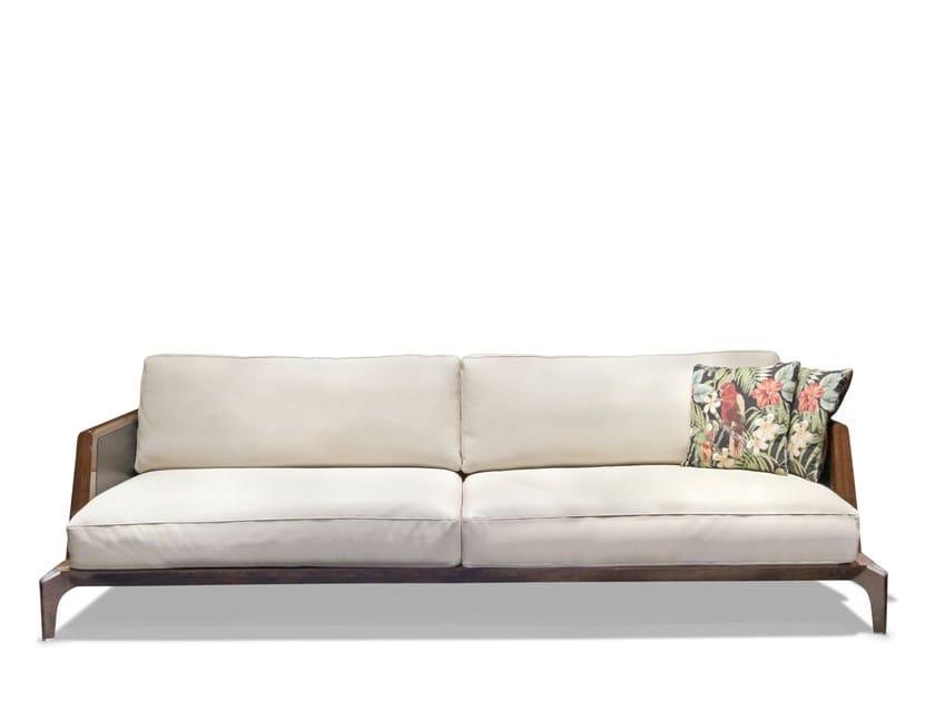 3 seater fabric garden sofa BOULEVARD | Garden sofa by Visionnaire