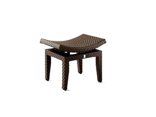 Low garden stool CARLY BALI | Garden stool by 7OCEANS DESIGNS
