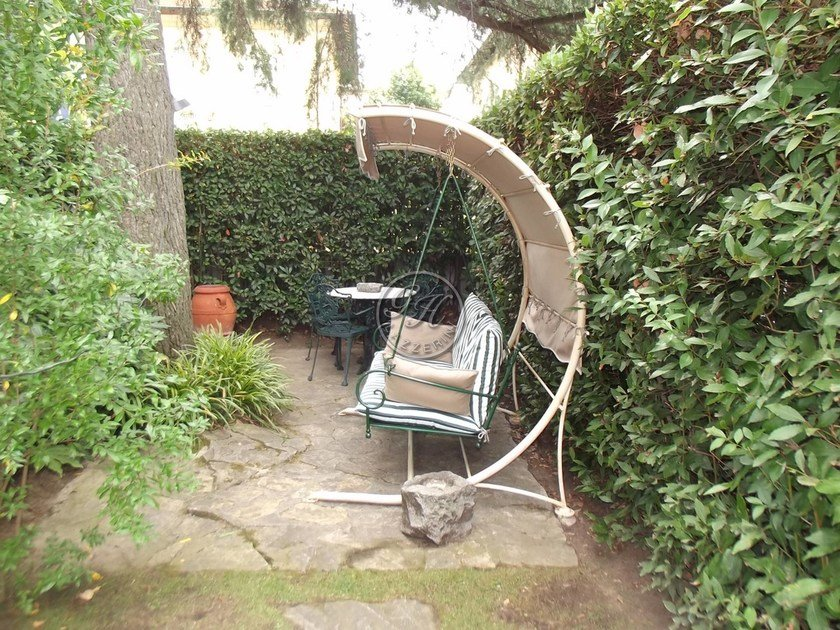 2 Seater Wrought Iron Garden Swing Seat Garden Swing Seat 7 By GH LAZZERINI