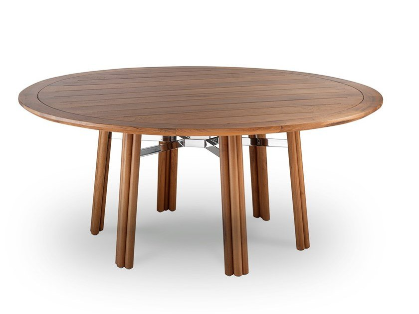 MAXIM | Round Table Maxim Collection By Braid Design Carlo Colombo, Luciana Monticelli