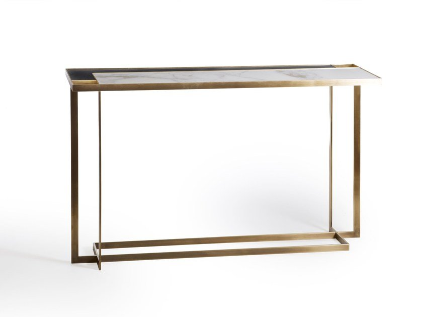 Rectangular console table GARY | Console table by MARIONI