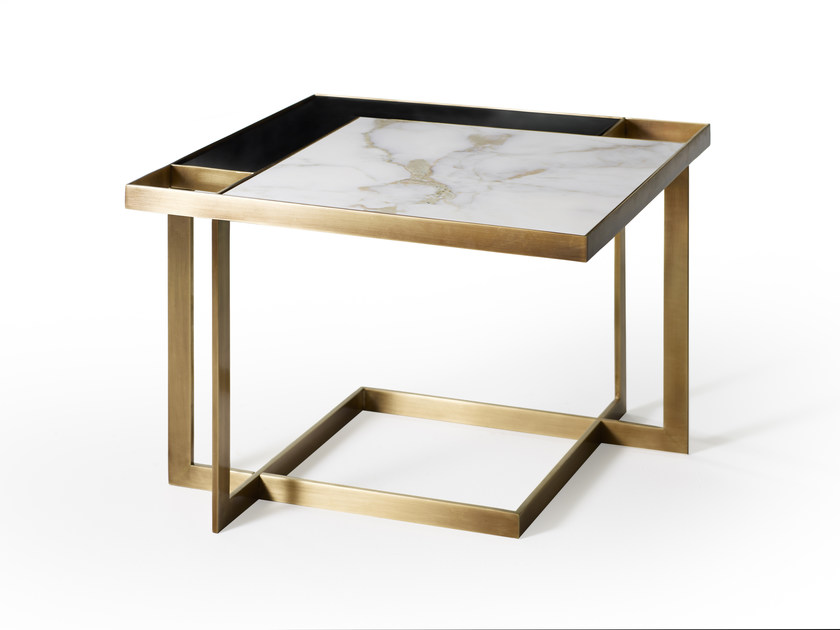 Low Square Coffee Table Gary By Marioni