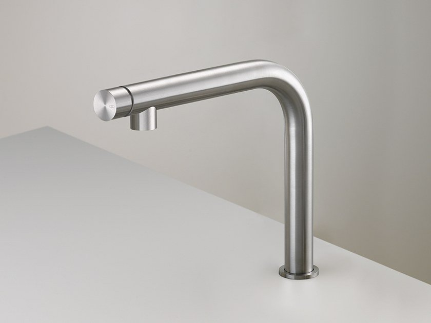 Single handle stainless steel kitchen mixer tap GAS 23 by Ceadesign