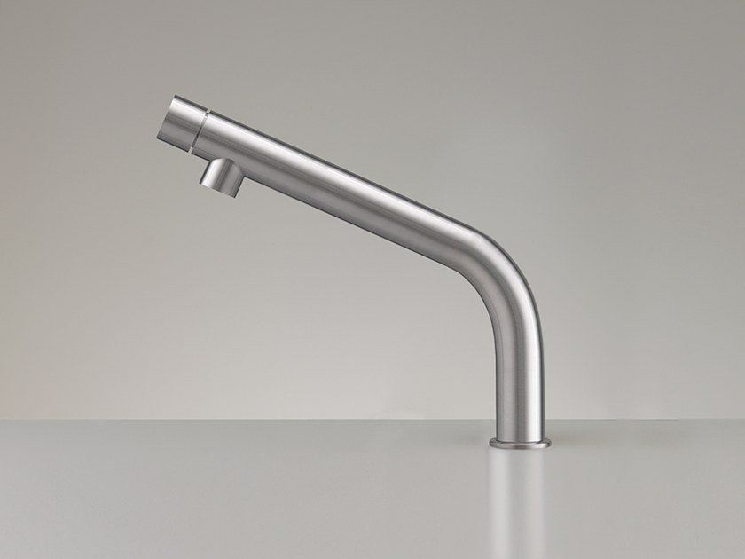 Single handle stainless steel kitchen mixer tap GAS 24 by Ceadesign