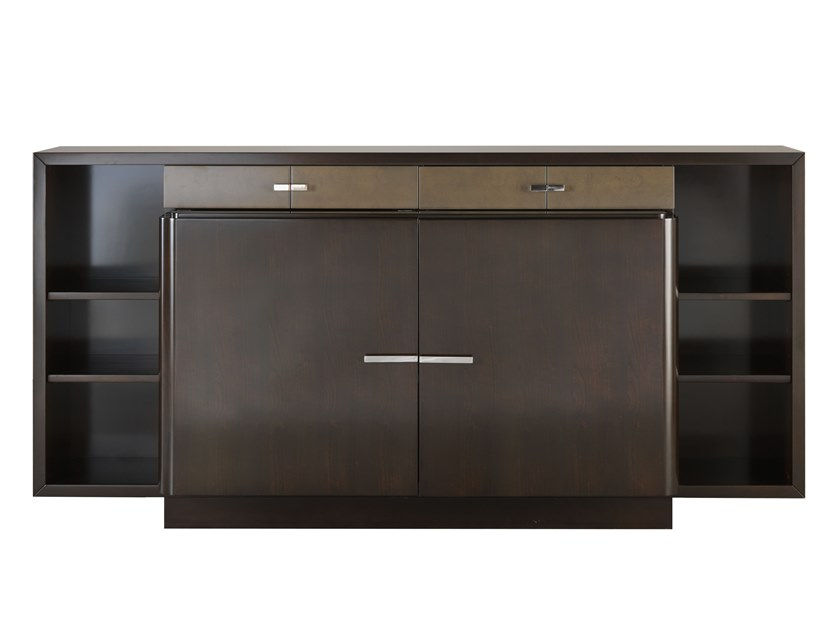 Wooden sideboard with doors with drawers GATSBY | Sideboard by SELVA