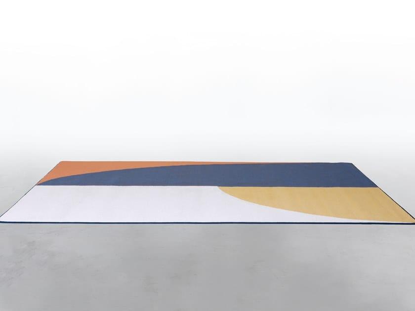 Rectangular rug GATSBY by Tonin Casa