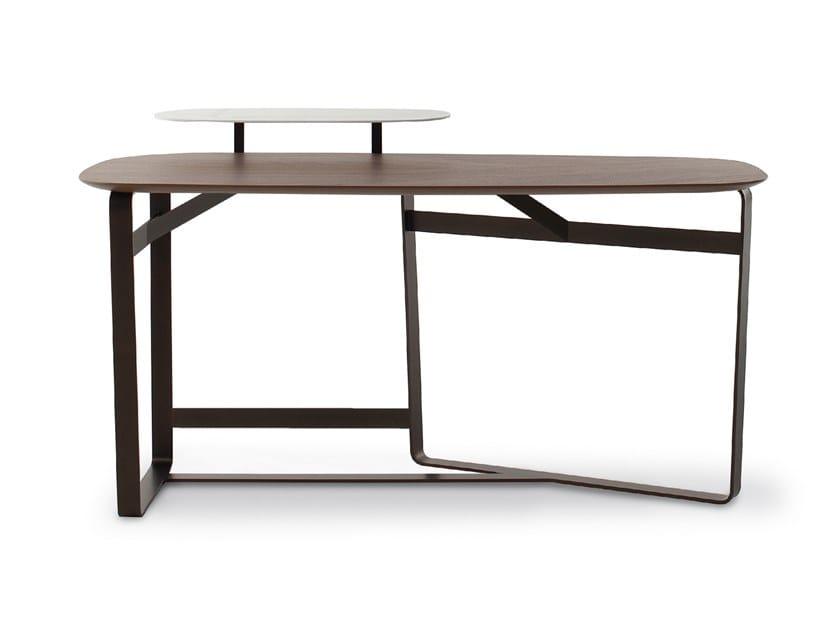 Wooden secretary desk GAUSS by Bonaldo