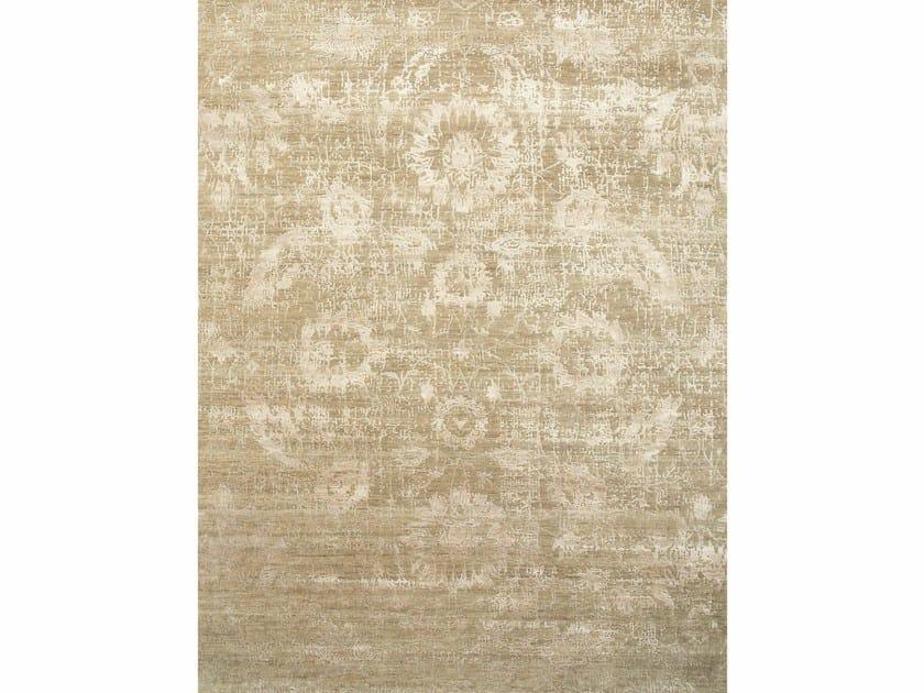 Patterned rug GAYA ESK-624 Silver/Flax by Jaipur Rugs