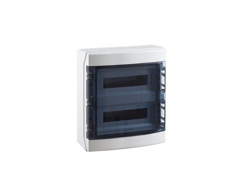 Plastic distribution enclosure 36 MODULE 2 ROW IP65 DISTRIBUTION BOARD by Garo