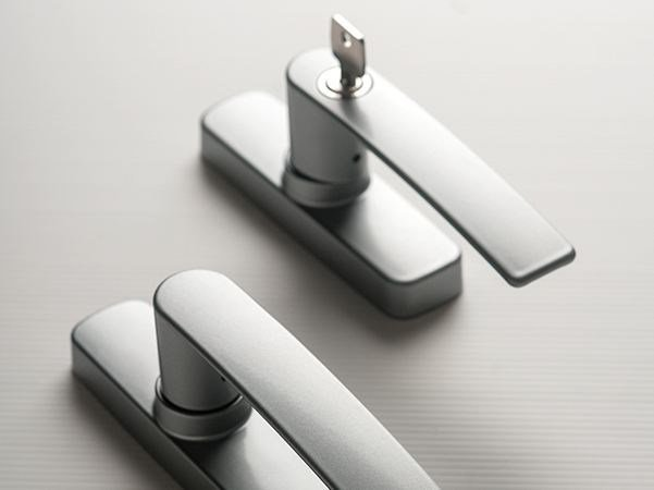 Cremone handle with lock GEA | Cremone handle with lock by FAPIM