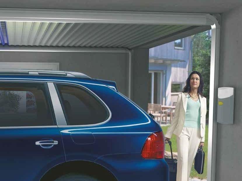 Roller garage door GECCO® by Sprilux