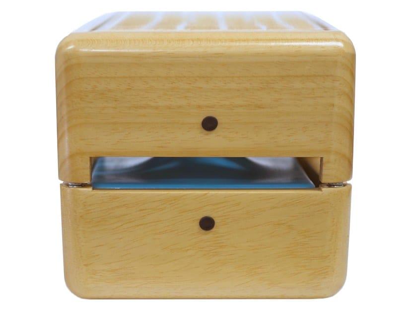 Wooden portable air conditioner / Air freshener dispenser GEIZEER NATURAL by Geizeer