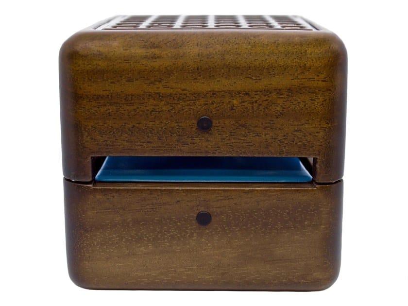 Walnut portable air conditioner / Air freshener dispenser GEIZEER WALNUT by Geizeer