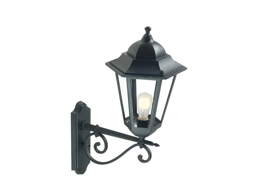 Die cast aluminium outdoor wall lamp GEKO 583 by SOVIL
