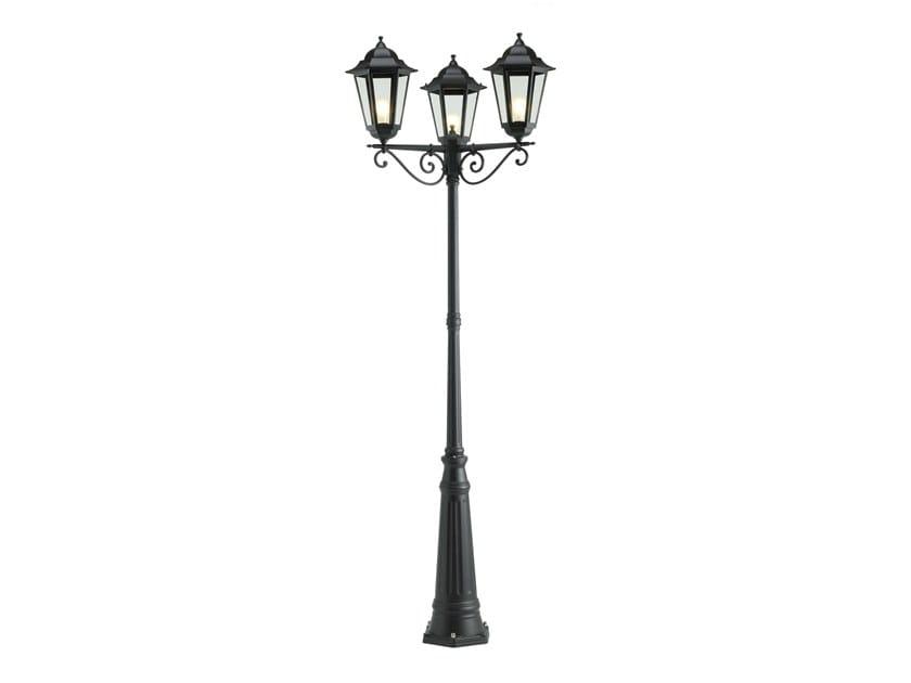 Lampione da giardino a lanterna in alluminio pressofuso GEKO 586 by SOVIL