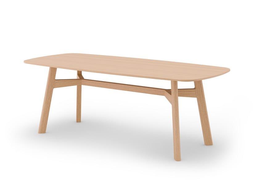 Rectangular dining table GEM by SCULPTURES JEUX