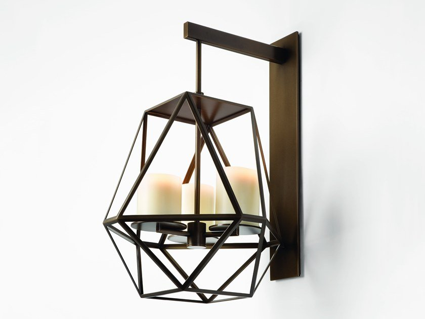 Indirect light steel wall light GEM   Wall light by Kevin Reilly Collection