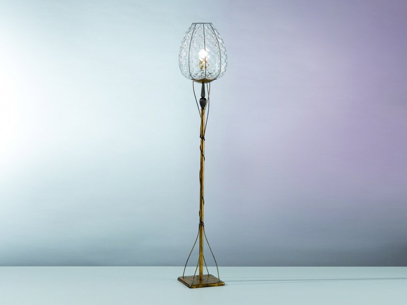 Murano glass floor lamp GEMMA MP 267 by Siru