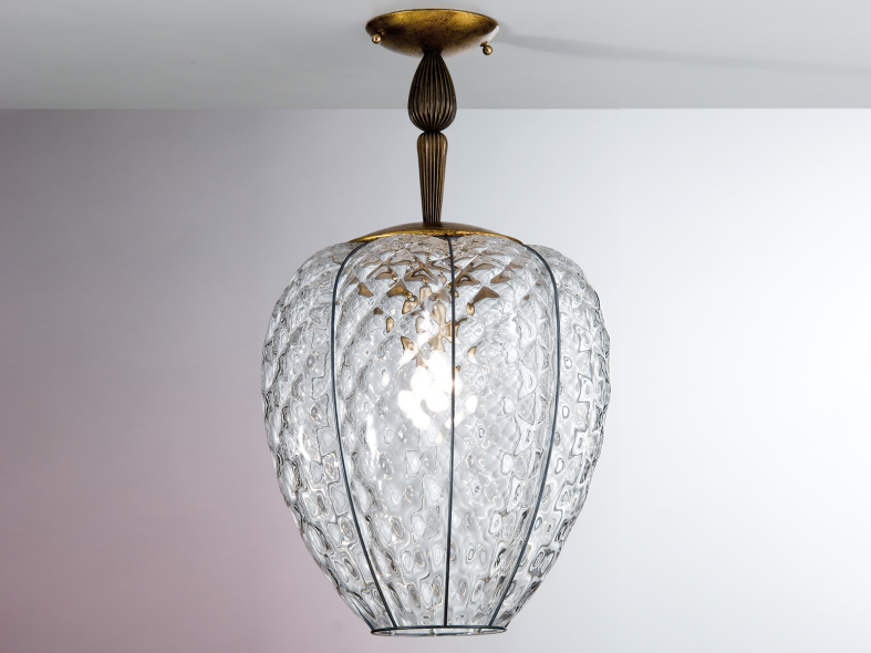 Murano glass ceiling lamp GEMMA MS 267 by Siru