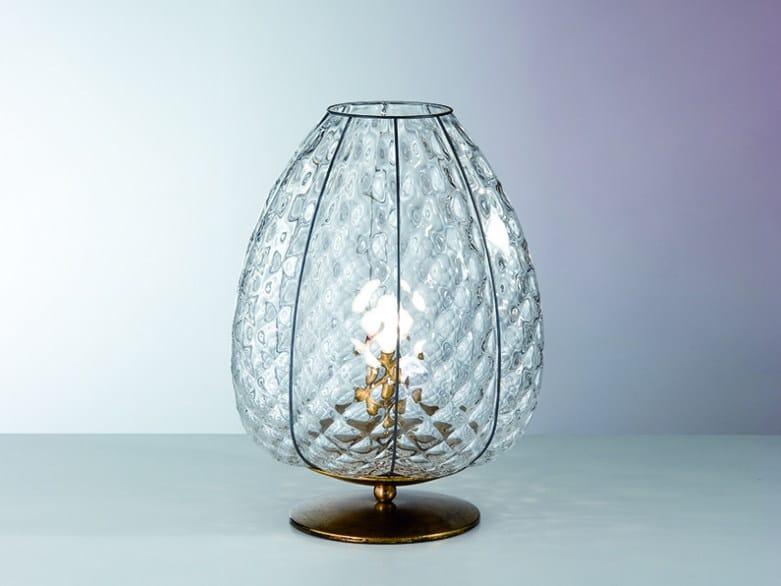 Murano glass table lamp GEMMA MT 267 by Siru