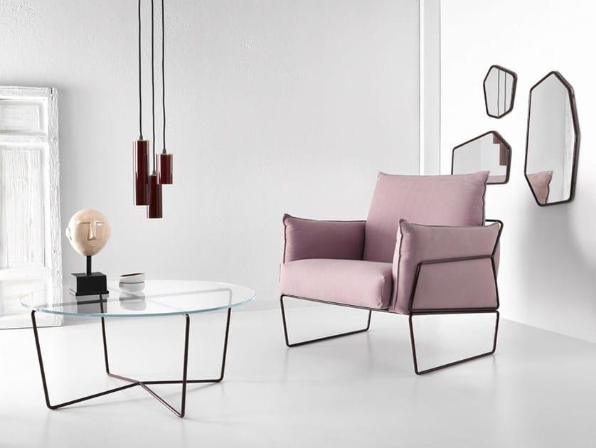 Gemma armchair by altinox for Poltrone minimal