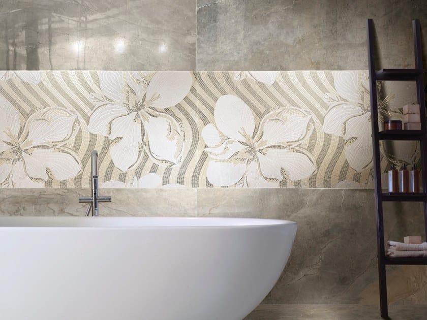 Porcelain stoneware wall/floor tiles GEMS FLOWER by CERAMICHE BRENNERO