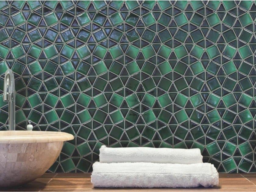 Mosaico in poliuretano per interni ed esterni GEMS by MyMosaic