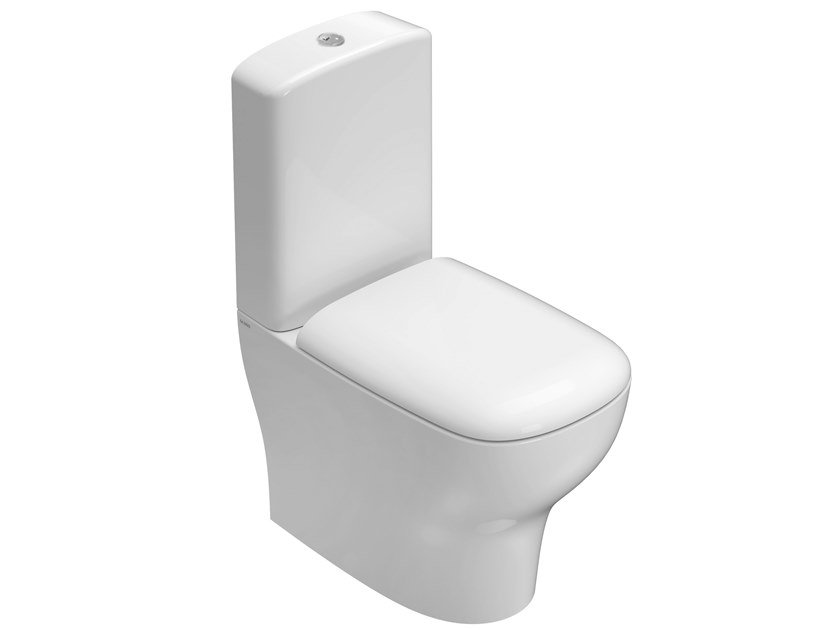 Close coupled Floor mounted toilet GENESIS | Close coupled toilet by Ceramica Globo