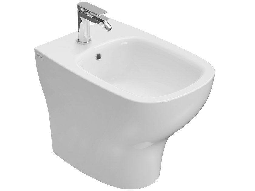 Ceramica Globo Serie Stone.Genesis Floor Mounted Bidet Genesis Collection By Ceramica Globo