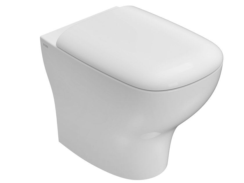 Floor mounted ceramic toilet GENESIS | Floor mounted toilet by Ceramica Globo