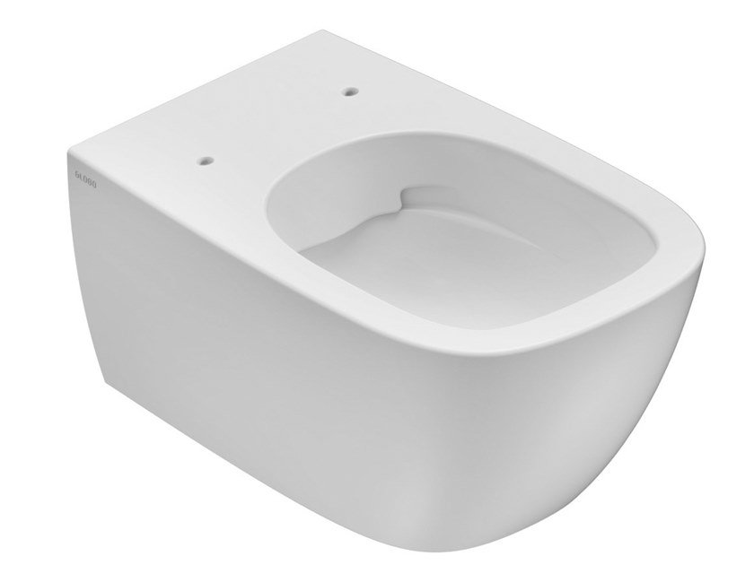 Wall-hung ceramic toilet GENESIS | Wall-hung toilet by Ceramica Globo