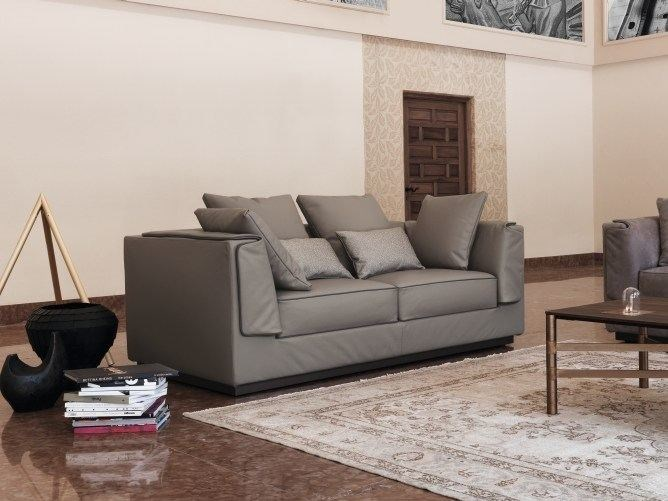 2 seater sofa with removable cover GENTLEMAN | 2 seater sofa by Flou