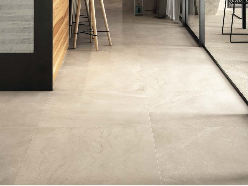 Porcelain stoneware wall/floor tiles with marble effect GENUS HOME B by Ceramica d'Imola