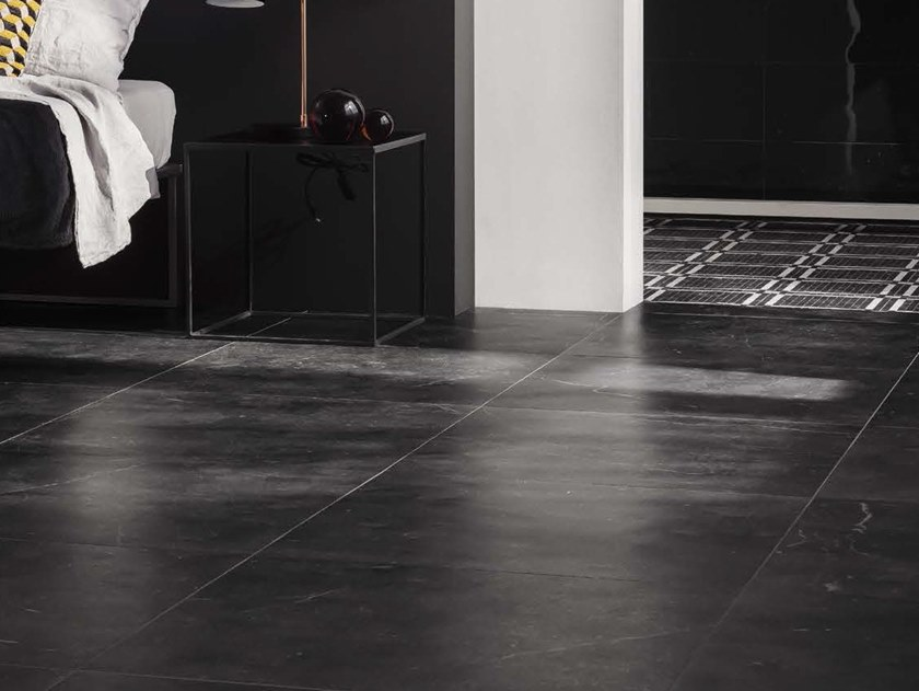 Porcelain stoneware wall/floor tiles with marble effect GENUS HOME N by Ceramica d'Imola