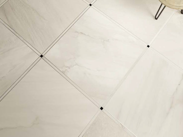 Porcelain stoneware wall/floor tiles with marble effect GENUS HOME W by Ceramica d'Imola