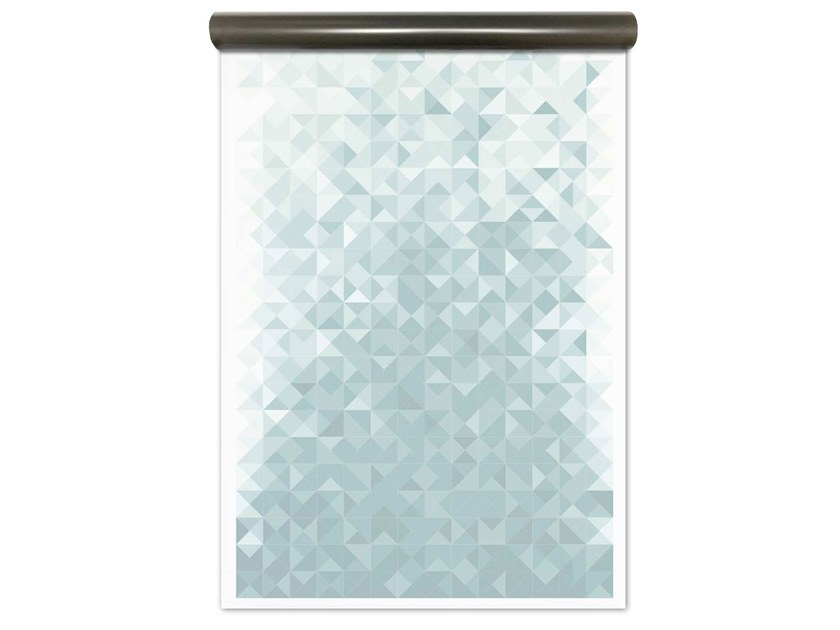 Motif magnetic wallpaper GEO BLUE   Magnetic wallpaper by Groovy Magnets