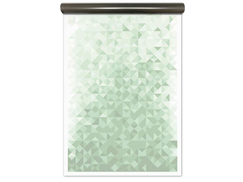Motif magnetic wallpaper GEO GREEN | Magnetic wallpaper by Groovy Magnets