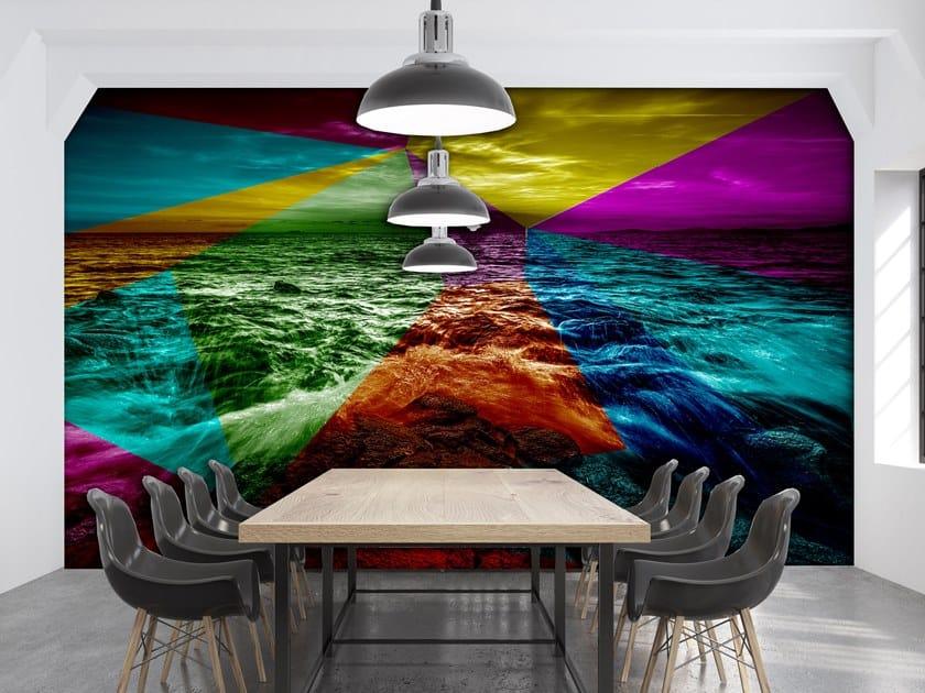 Washable wallpaper GEO ILARITÀ by Creativespace
