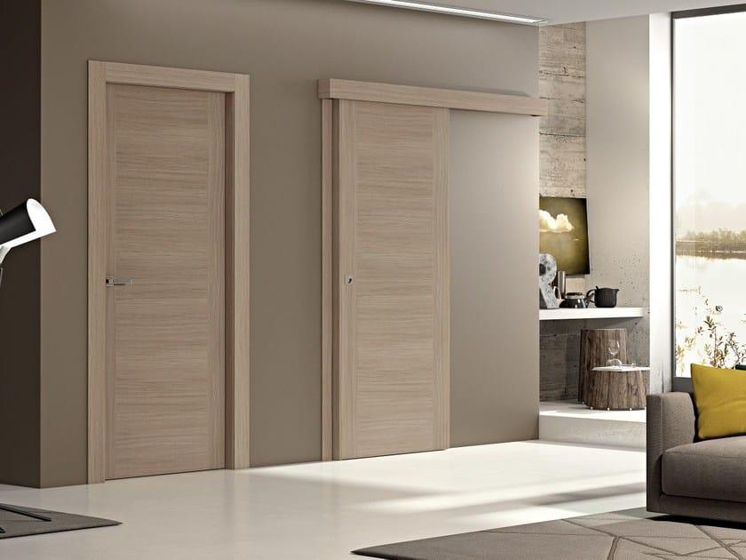 Porta scorrevole in legno GEO | Porta scorrevole by Pail Serramenti