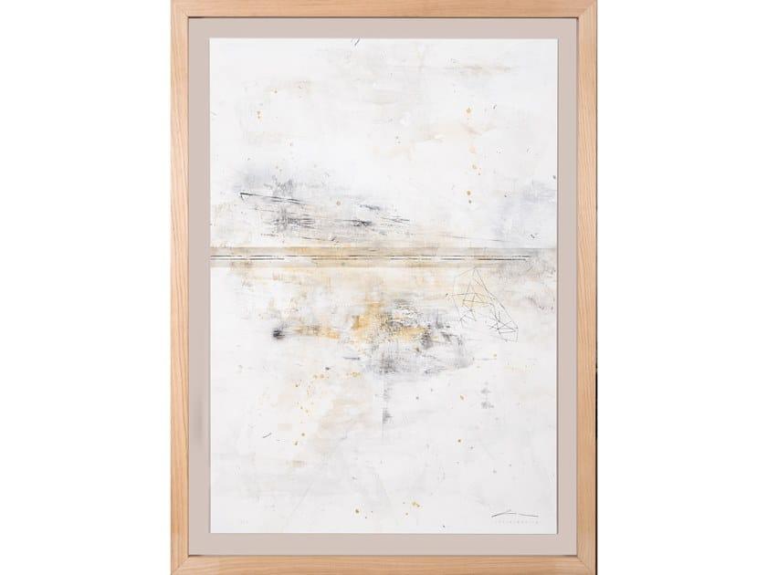Canvas Painting Geometria Estrato I by NOVOCUADRO ART COMPANY