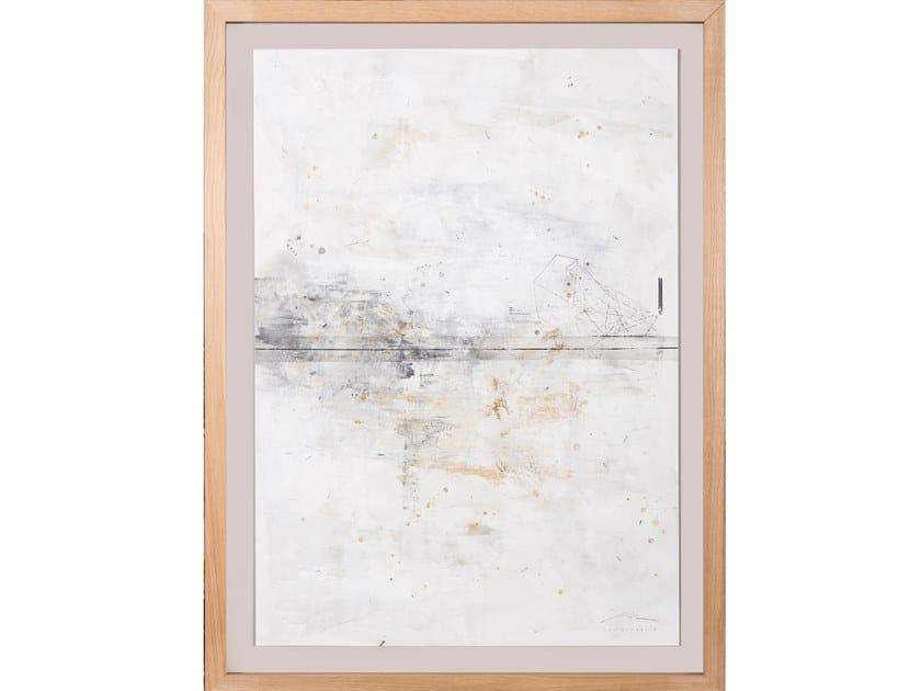 Canvas Painting Geometria Estrato II by NOVOCUADRO ART COMPANY
