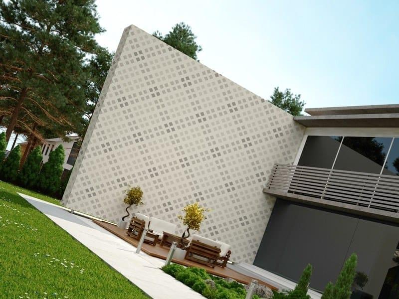 Adhesive geometric outdoor wallpaper GEOMETRIC by ACTE-DECO